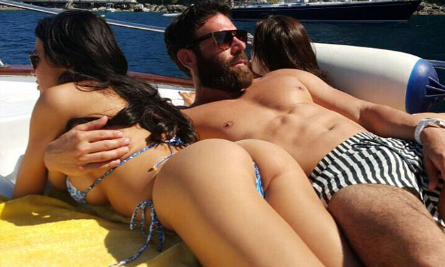 Dan Bilzerian trains with Lance Armstrong