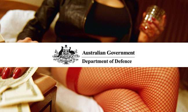 Gambling and Hookers Charged to Australian Defence Expense Accounts