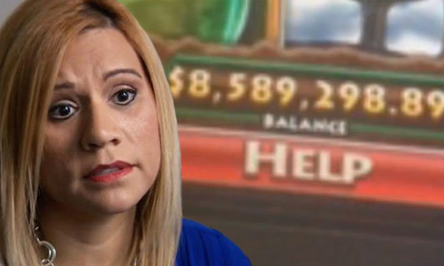 Woman's $8.5 Million Jackpot Win in Error