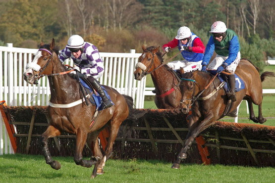Horse racing in running trading strategy