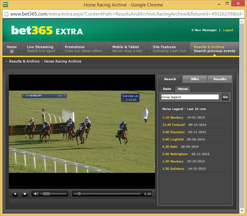 Watch Horse Racing Replays Free Online